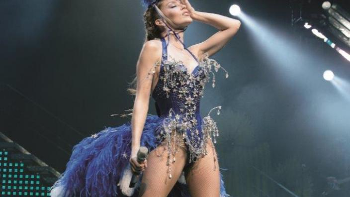 Kylie Minogue, Kylie Showgirl: The Greatest Hits tour, 2005. Photograph by Ken M