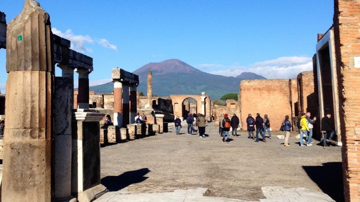 """""""Mount Vesuvius from Pompeii"""""""
