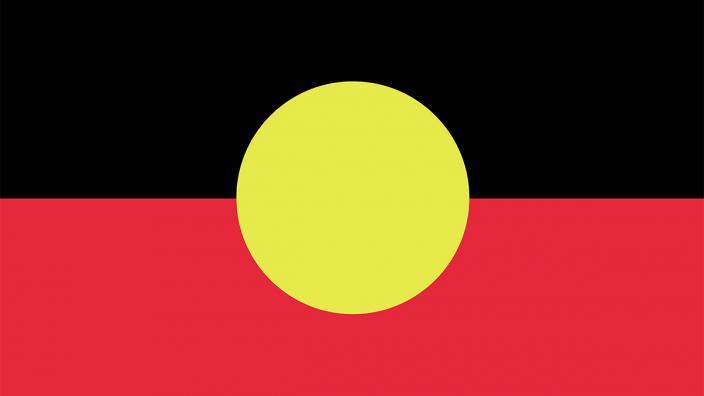 """""""Aboriginal flag."""""""