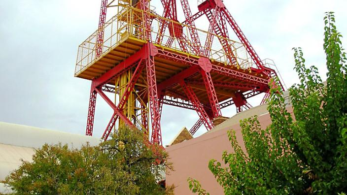 Caption: Museum of the Goldfields