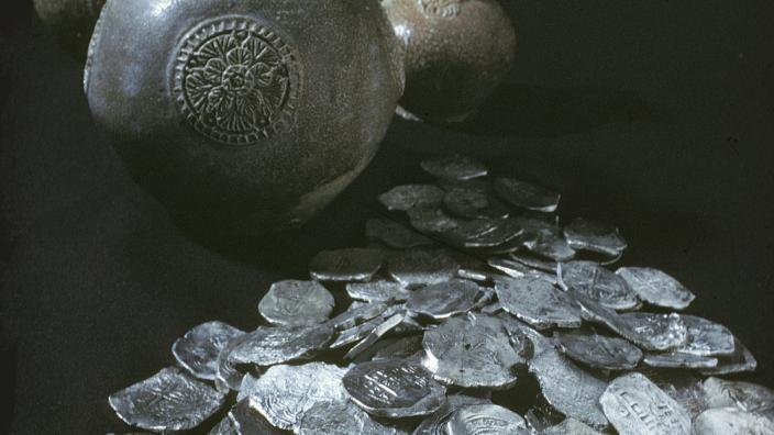 Artefacts recovered from the Vergulde Draak