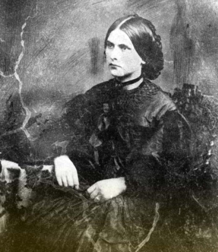 Black and white portrait of Eliza Broadhurst