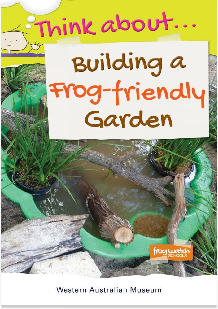 Think about.. Building a Frog-friendly Garden