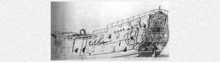 Drawing of the vessel Dartworth