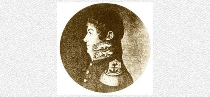 Portrait of Louis de Freycinet