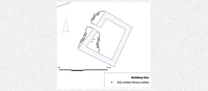 Plan of the main building at Quion Bluff