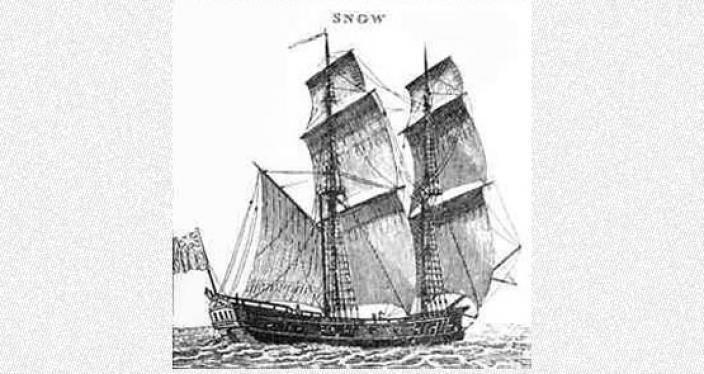 Hand drawn illustration of the James Matthews