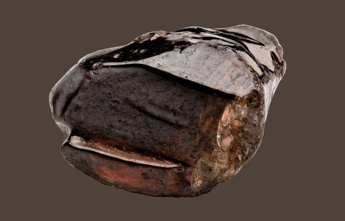 Brown Zircon crystal