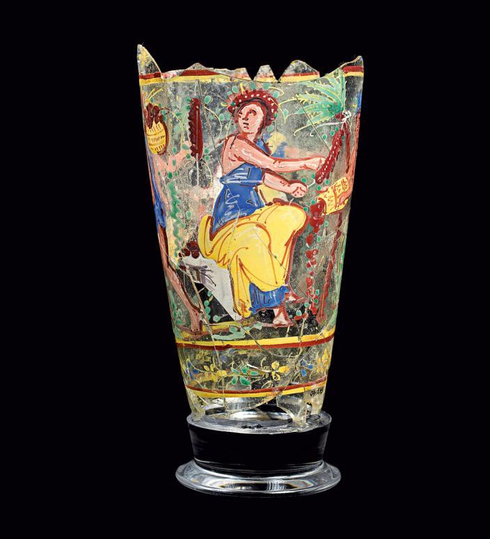 Painted Beaker