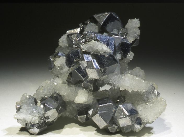 Image of Galena crystals