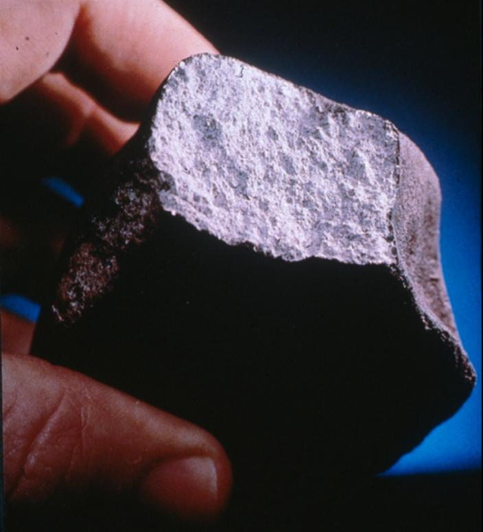 Image of a meteorite