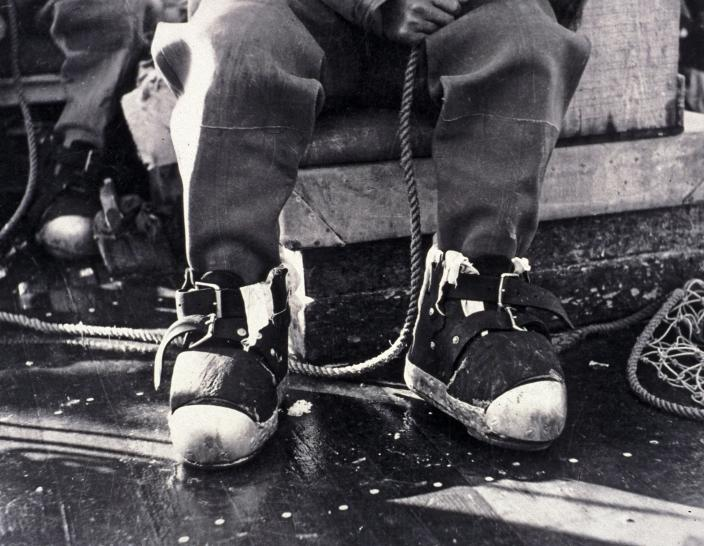 Image of diving boots