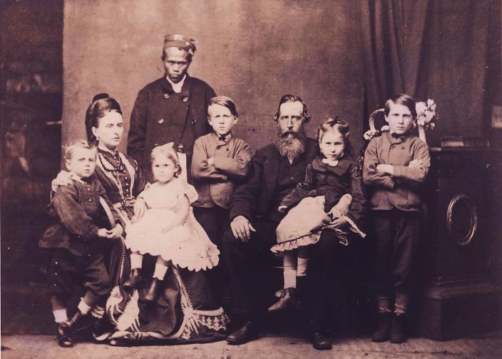 The Broadhurst Family: donated by Jenny Davies of the Broadhurst family