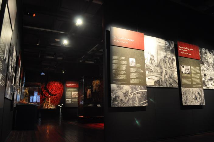 Debt of Honour Exhibition at the Western Australian Museum