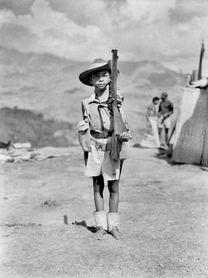 Akiu was a criado of Chinese and Timorese descent. He was speared by pro-Japanes