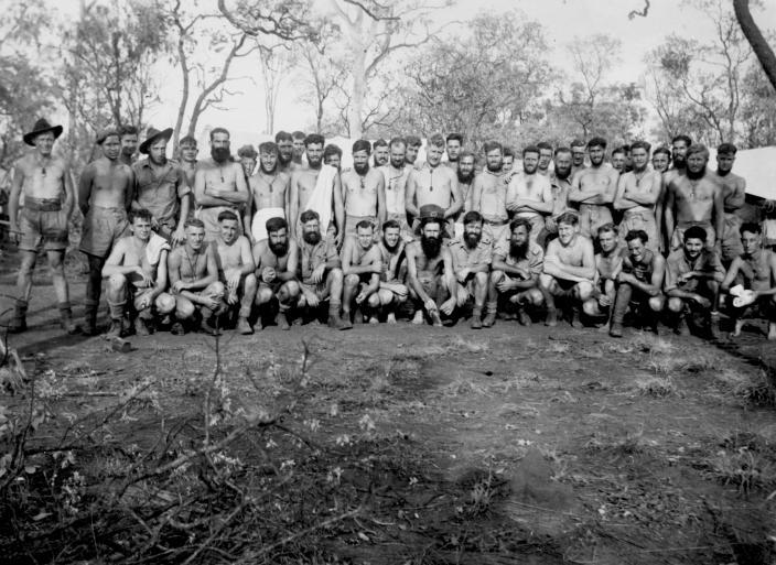Capt David Dexter's A Platoon 2/2nd Independent company at Larrimah,NT