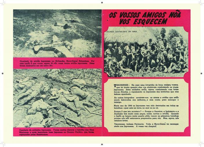 Allied wartime propaganda leaflet