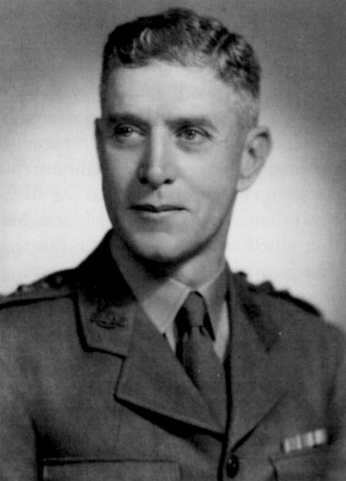 Capt Roger Dunkley, the 2/2nd's popular Medical Officer.