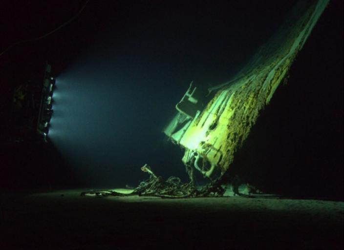 HMAS Sydney Bow