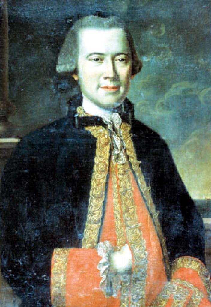 Portrait of Louis Francois Marie Aleno de Saint Aloüarn.