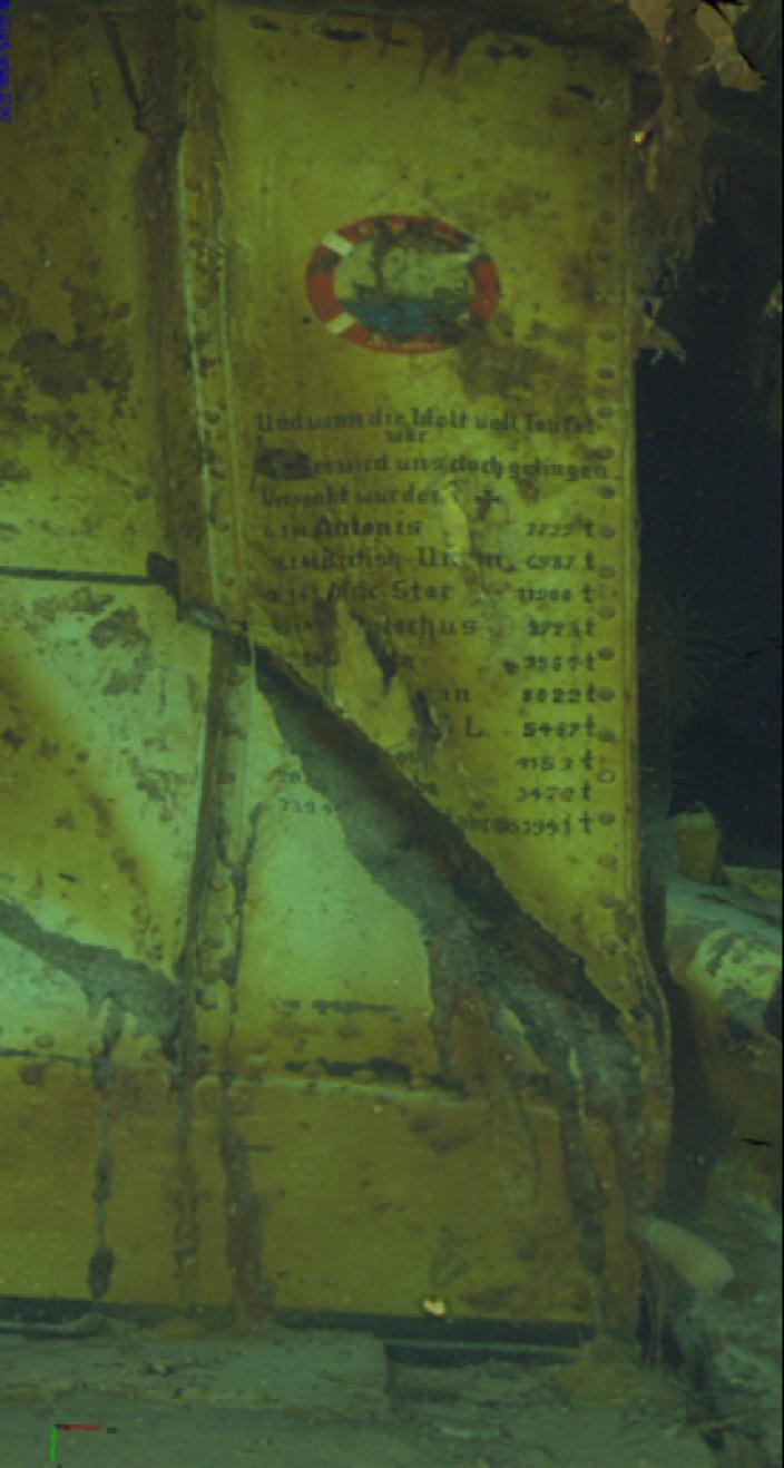 Wartime Graffiti on HSK Kormoran: The list of ships sunk