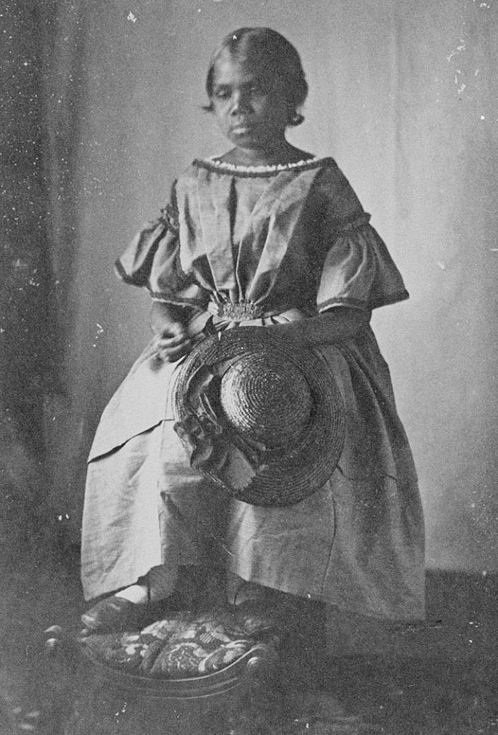 Bessie Flowers in the 1860s
