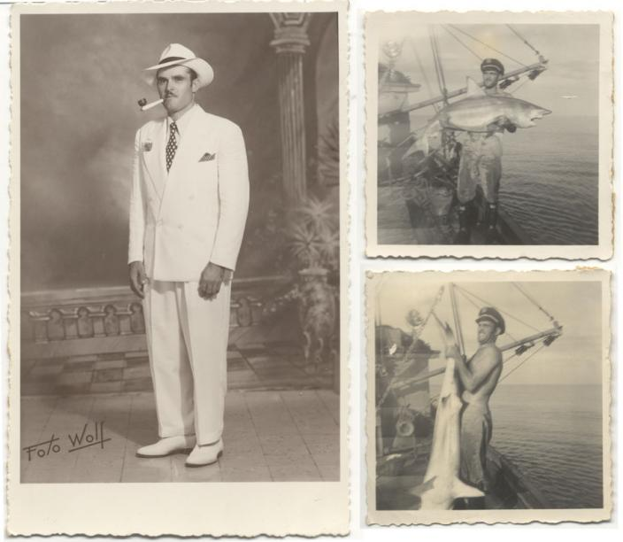 Florencio in Central America during the 1950s.