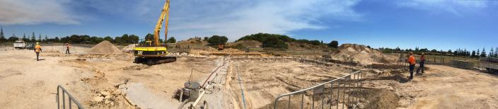 Samuel Wright excavation site in Bunbury