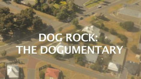 Screen grab from the Dog Rock film