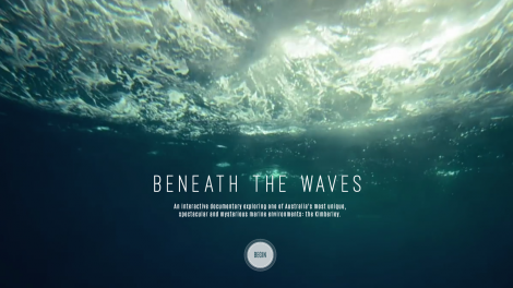 Beneath the Waves interactive online documentary