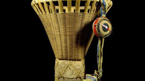 An Igorot back basket
