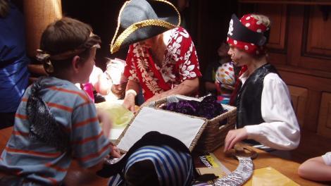 Children enjoying school holiday programs at Albany