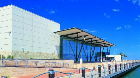 Exterior of the WA Museum - Geraldton