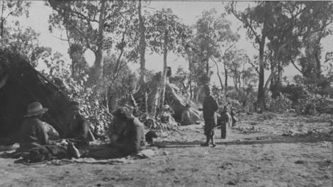 Traditional Aboriginal Camp site