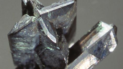 A striking formation of Chalcocite in a star-like shape