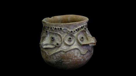 A large sago pot from new Guinea
