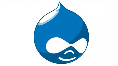 The Drupal drop logo