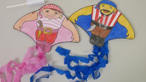 Pirate Mini Kites
