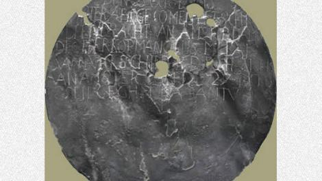 Dirk Hartog's famous inscription plate