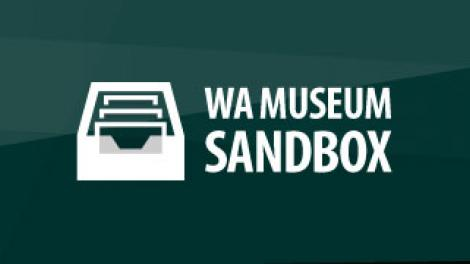 The WA Museum Sandbox logo
