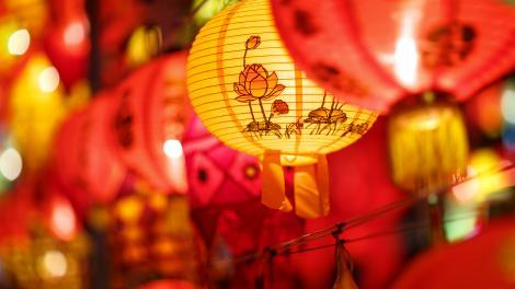 Chinese Paper Lanterns - Copyright WA Museum