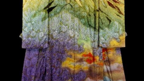 Kimono by Ichiku Kubota, Japanese designer.