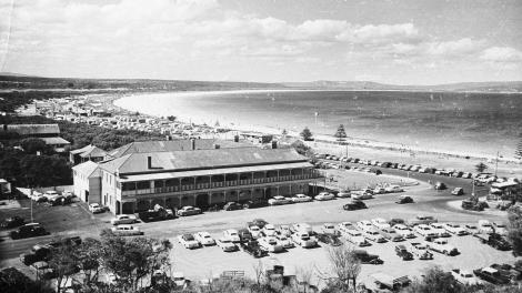Esplanade Hotel, Albany, mid-1950s.