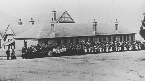 Albany State School around 1910