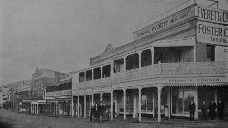 Stirling Terrace - Everett's Corner - 1918.
