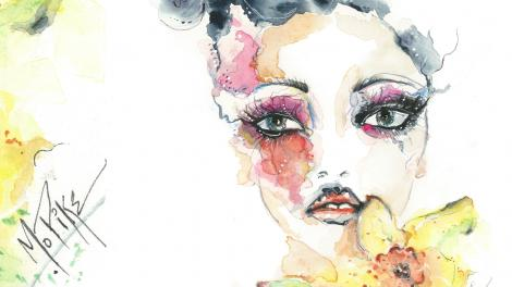 Fashion Illustration by Michelle Pike
