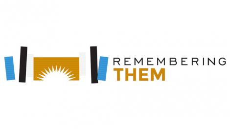 Logo for the Remembering Them initiative