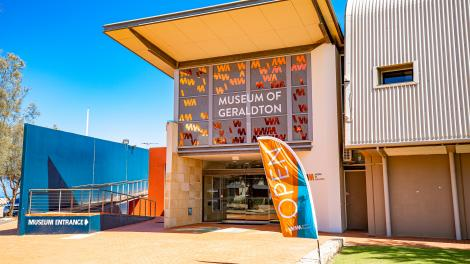 Caption: Museum of Geraldton