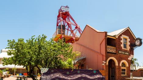 Caption: The Museum of the Goldfields