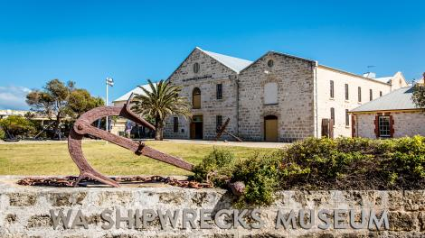 Caption: WA Shipwrecks Museum